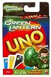 Mattel Green Lantern UNO Card Game