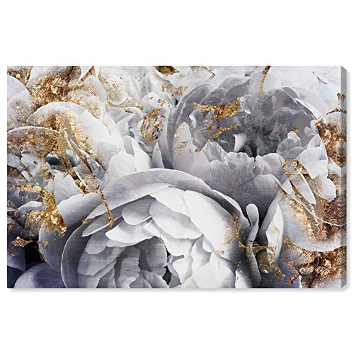 The Oliver Gal Artist Co. Floral and Botanical Wall Art Canvas Prints 'Her Peony Garden' Home Décor, 60