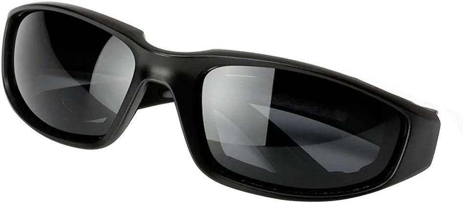 CVBN Occhiali da Moto Antivento da Uomo Occhiali da Moto da Moto UV retr/ò Vintage Neri e Grigi