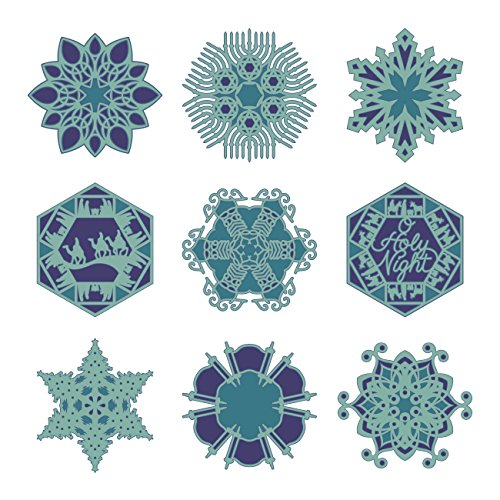 Winter Wonderland Dress Up Ideas (Cricut Holiday Snowflakes Cartridge)