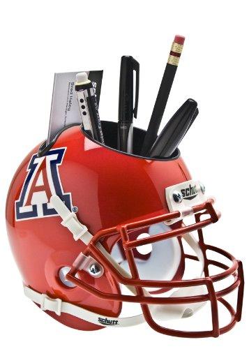 Wildcats Desk Ncaa (NCAA Arizona Wildcats Helmet Desk Caddy, Scarlet)