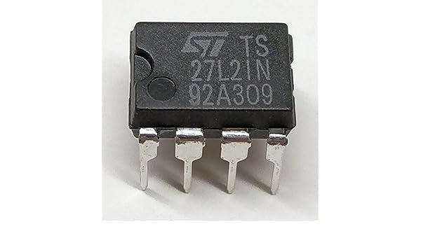 5 pieza ts27l2in Precision Very Low Power CMOS Dual ...