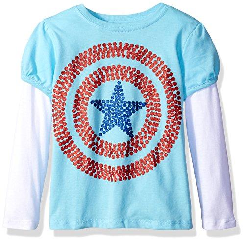 captain america toddler tee - 7