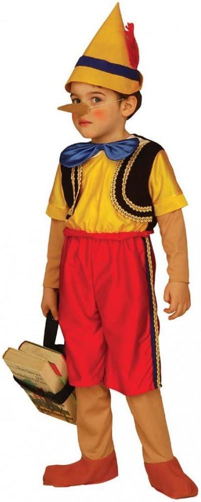 WIDMANN Widman - Disfraz de pinocho para niño, talla 3-4 años ...
