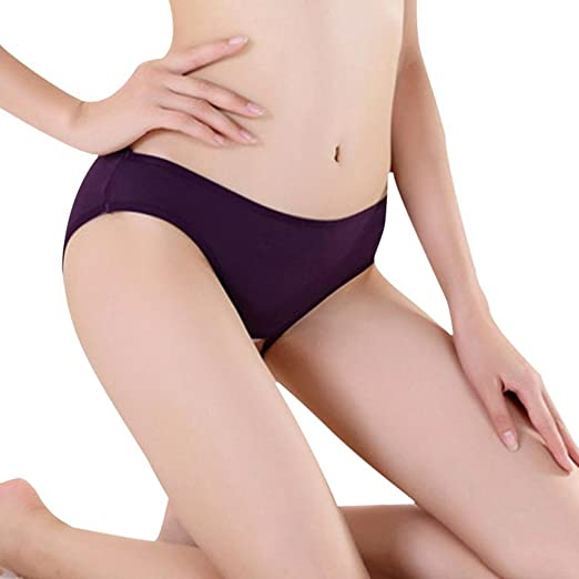 a6eb29429 GBSELL Hot Women Sexy Open Butt Backless Panties Thongs G-string (Purple)