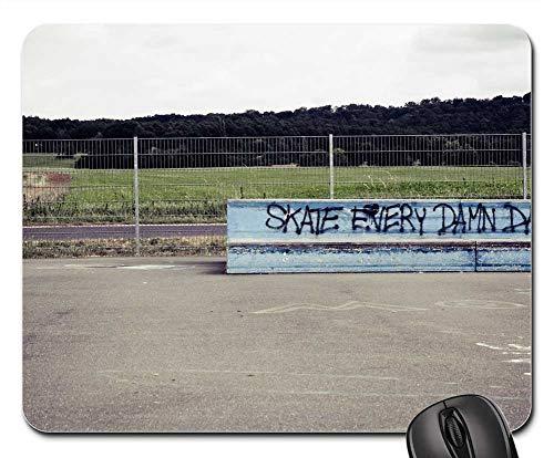 Mouse Pad - Skateboard Sport Halfpipe Leisure Fun Young People ()