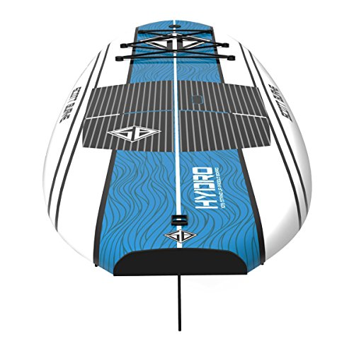 Scott Burke 10'6'' Hydro Stand-Up Paddleboard Package, White/Blue by Scott