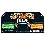 Crave Wet Cat Food - Chicken & Turkey - 75g (12-Pack)
