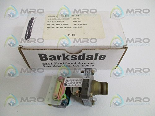Barksdale Pressure Switch - BARKSDALE E1S-H90-BR PRESSURE SWITCH 3-90 PSINEW IN BOX