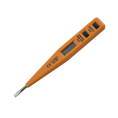 Hoteche 286003 Destornillador Digital Naranja/Negro 13 cm: Amazon.es ...
