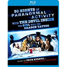 30 Nights of Paranormal Activity with the Devil Inside the Girl with the Dragon Tattoo Blu-ray (2013)