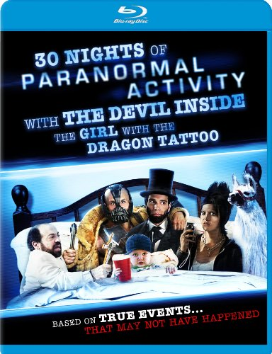 30 Nights of Paranormal Activity with the Devil Inside the Girl with the Dragon Tattoo Blu-ray