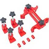 Timing Gear Clamp Set,Holds Valve Timing 5Pcs Cam Camshaft Lock Holder Car Engine Cam Timing Locking Tool Set By E-UNIONA
