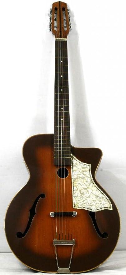 musikalia STIMER Jazz Guitarra acústica, Luthier de Crafted ...