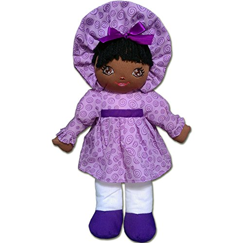 Anico Well Made Play Doll for Children Sweetie Mine, African American, 15