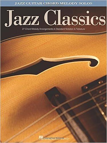 Amazon.com: Jazz Classics: Jazz Guitar Chord Melody Solos ...