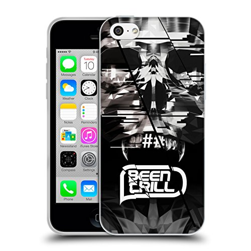 Official Been Trill Mouth Grill Skull 2 3D Scans Soft Gel Case for Apple iPhone 5c