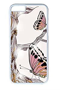Brian114 Butterfly 16 Phone Case for the iPhone 6 Plus White