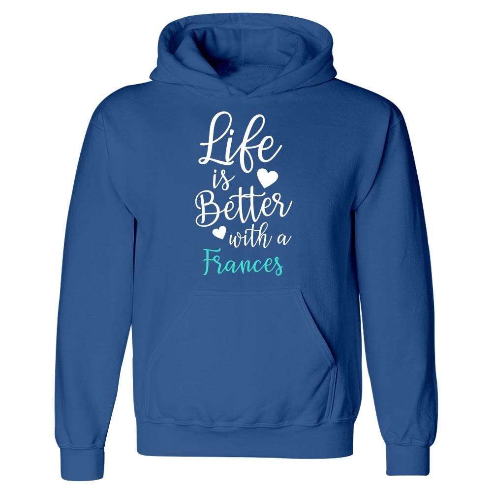MESS Life is Better with A Frances Hoodie