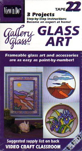 Gallery Glass: Glass Art (Video Craft Classroom Tape 22)