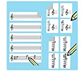 Flute Fingering Stickers Multipack (420 handy stickers) Great for beginners and teachers!
