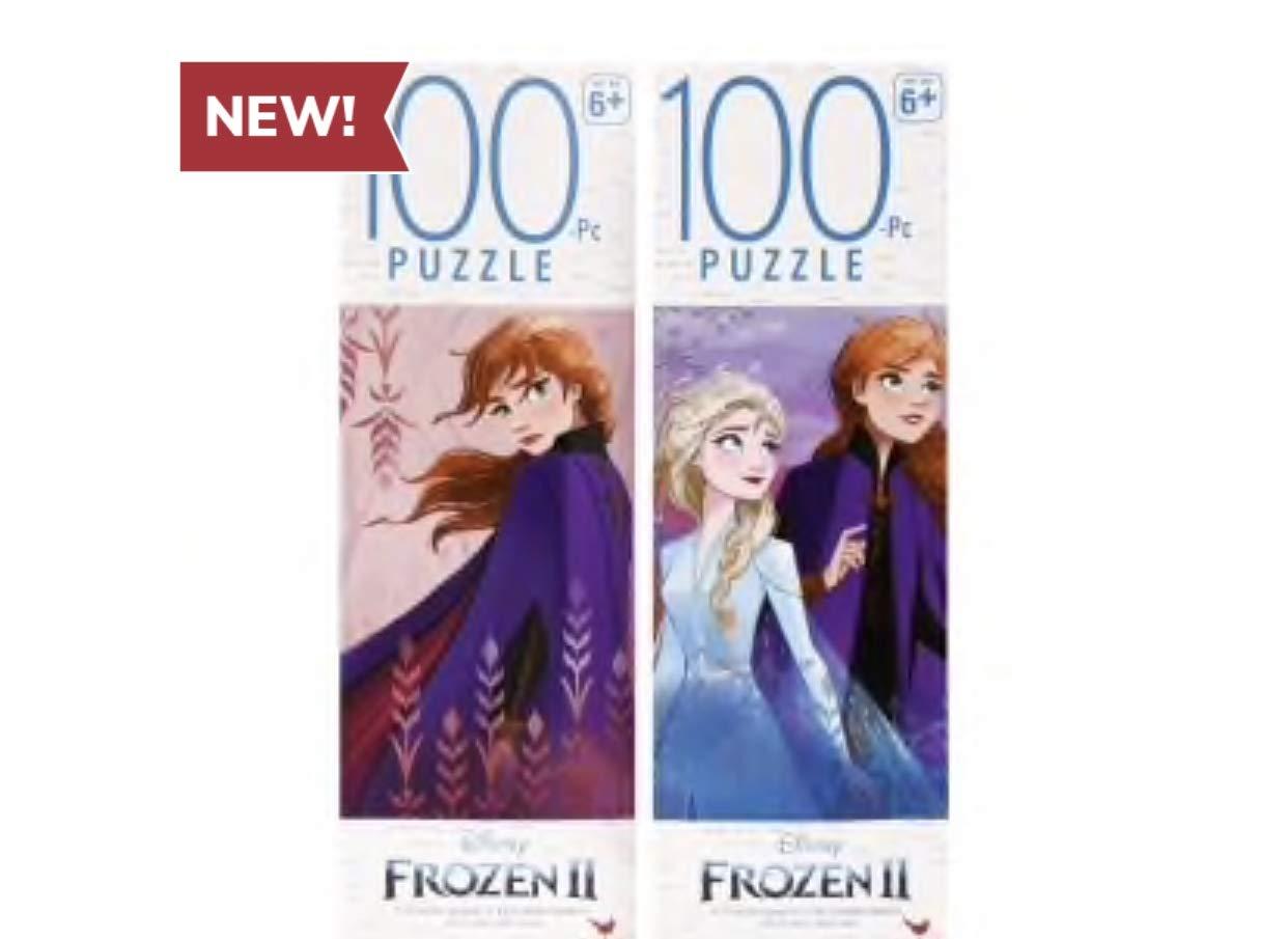 Disney Frozen 2 100 Piece Jigsaw Puzzle Gift Set Set of 4