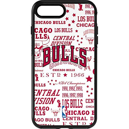 - Skinit Chicago Bulls Historic Blast OtterBox Symmetry iPhone 7 Plus Skin for CASE - Officially Licensed NBA Skin for Popular Cases Decal - Ultra Thin, Lightweight Vinyl Decal Protection