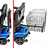 Challenger Mobility Scooter Folding Rear Basket for Pride Mobility, Go-Go, Buzz Around, Drive Adjustable Design