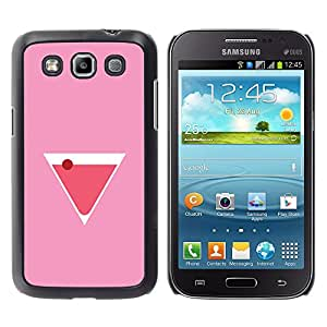 Shell-Star Arte & diseño plástico duro Fundas Cover Cubre Hard Case Cover para Samsung Galaxy Win / I8550 / I8552 / Grand Quattro ( Martini Cocktail Drink Liquor Pink )