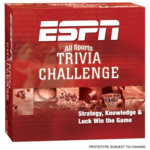 espn all sports trivia challenge board game - 1