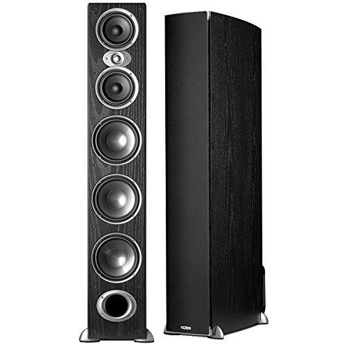 Polk Audio RTI-A9 - Par de caixas acústicas Torre para Home Theater 500w Preto