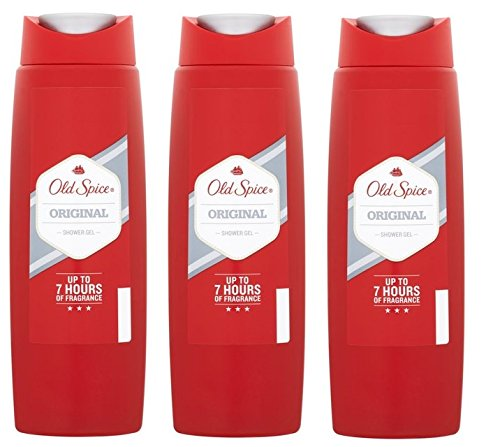 Old Spice Original Shower Gel 250ml x 3 Packs
