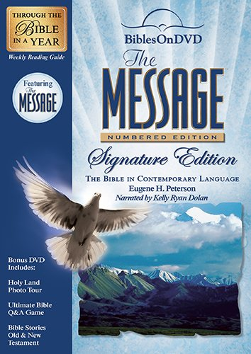 The Message: Numbered Edition Signature Edition: Bible in Contemporary Language
