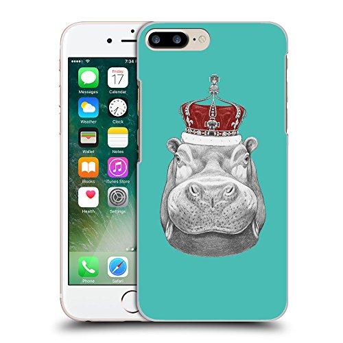 GoGoMobile Coque de Protection TPU Silicone Case pour // Q05260634 hippopotame Turquoise // Apple iPhone 7 PLUS