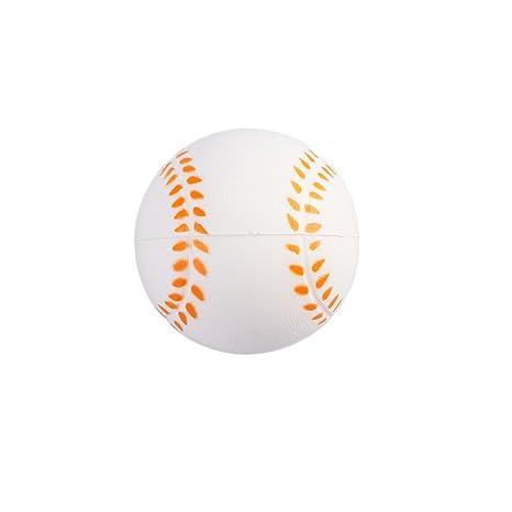 Toyvian Apretón de béisbol Pelota de Espuma Suave Mano muñeca Ejercicio Alivio del estrés Juguetes Regalos