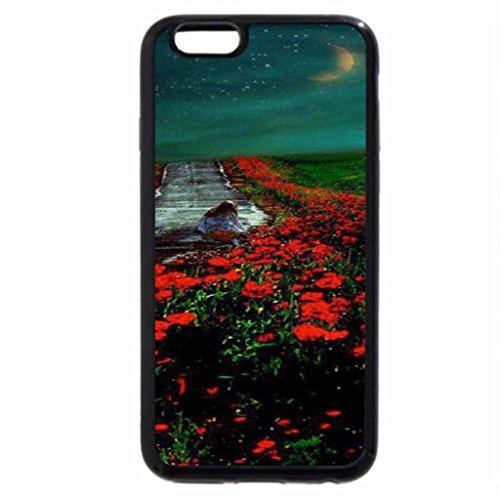 iPhone 6S / iPhone 6 Case (Black) Highway Garden