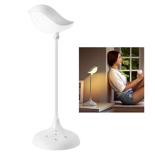 Regulable Lámpara de Escritorio con Altavoz Bluetooth LED Luz de ...