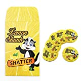 500 Lemon Skunk Shatter Extract Envelopes & Strain Rx Cannabis Label Stickers Combo Deal