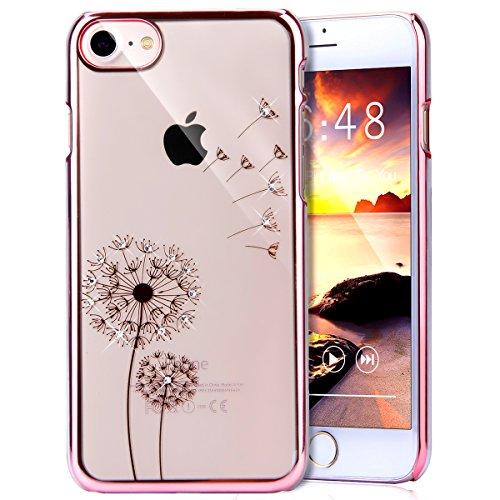 iPhone 8 Case,iPhone 7 Case,PHEZEN Dandelion Design Elect...