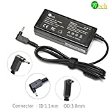 YTech19V 3.42A 65W Laptop Adapter for Acer Aspire One Cloudbook 11 13 14 15 CB3 CB3-111-C4HT CB5 CB5-571 CB5-311 AO1-131, AO1-431 Iconia W700 Table Compatible (NOT FOR C710)