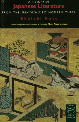 Download A History of Japanese Literature: From the Manyoshu to Modern Times Pdf