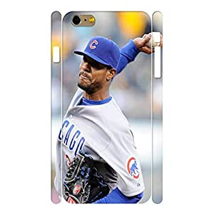 Uncommon Sports Series Designer Print Baseball Player Print Phone Shell Skin for Iphone 6 Plus Case - 5.5 Inch