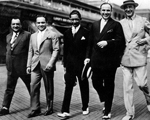 Globe Photos ArtPrints Al Capone with His Gang - 20