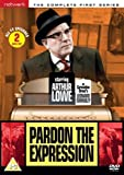 Pardon the Expession Series 1 by Arthur Lowe
