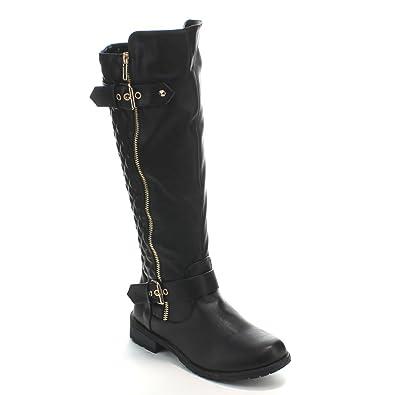 dd551d741b93 Forever Link Mango-21 Lady Boot Premium Black 5.5 M US