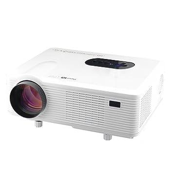 TOOGOO (R) 720P HD 3000 lúmenes Proyector LED HDMI VGA/USB/AV ...