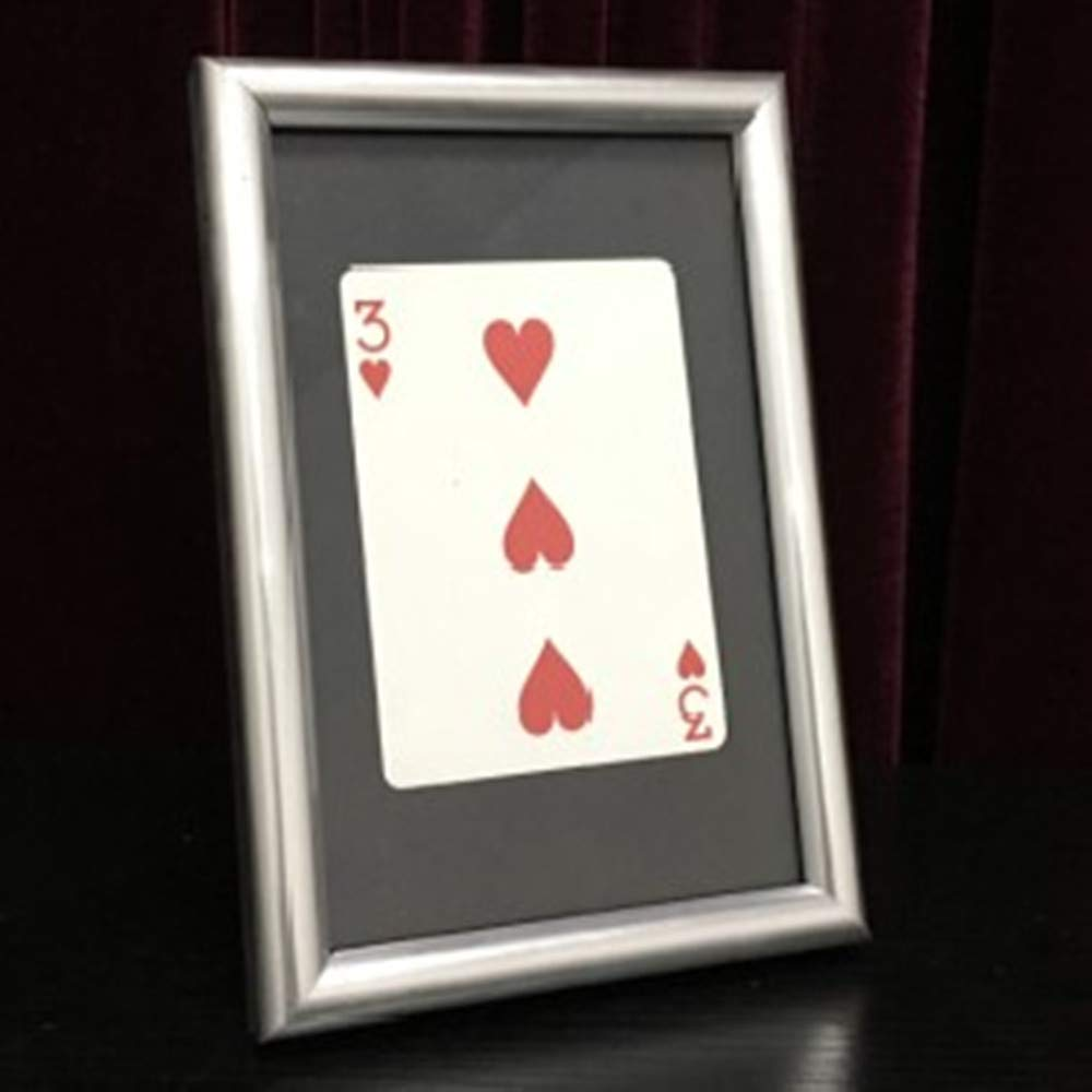 blue-ther Signed Card Thru The Frame Magic Tricks Signed Card Appear Inside Frame Magic Magician Stage Gimmick Prop Illusion Mentalism Fun by blue-ther
