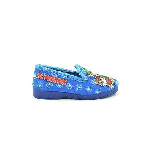 Zapatilla de Estar por casa niños Patrulla Canina Azul: Amazon.es: Zapatos y complementos