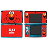ELMO Nintendo 3DS Cover Skin Decal Sticker Vinyl Matte Finish + Free Screen Protectors (For Old Version Prior 2015)