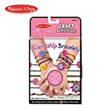 Melissa & Doug On-the-Go Friendship Bracelets Craft Activity Set (Makes 10+ Bracelets)